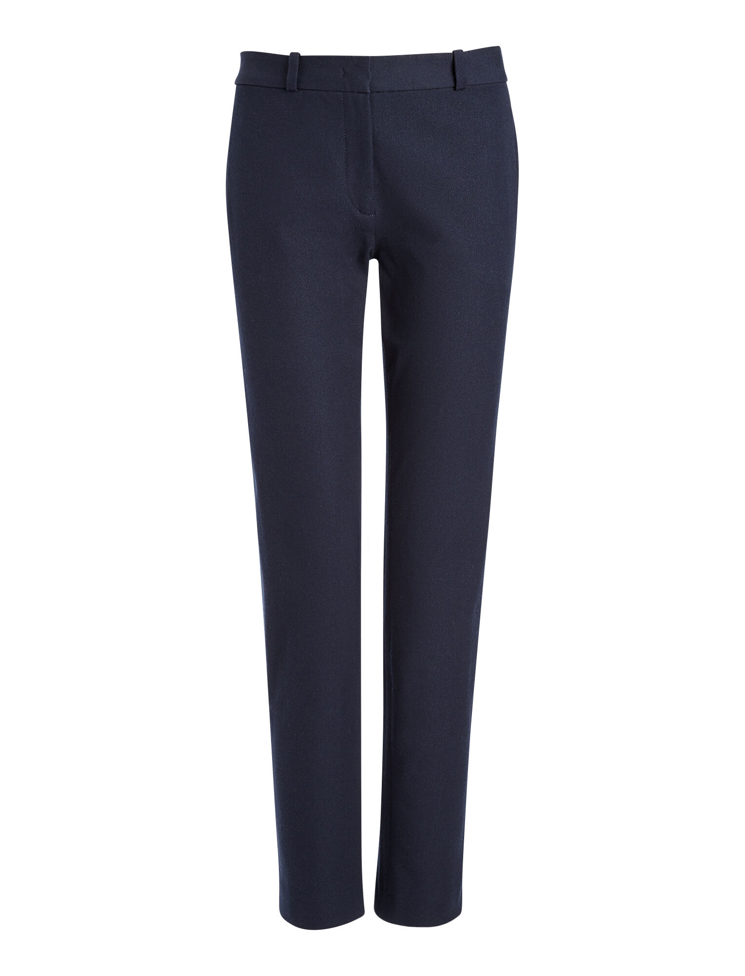 Joseph, Pantalon New Eliston en gabardine stretch, in NAVY