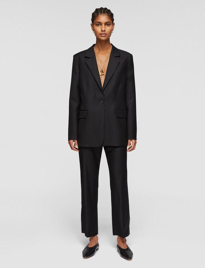Joseph, Tailoring Wool Josina Jacket , in BLACK