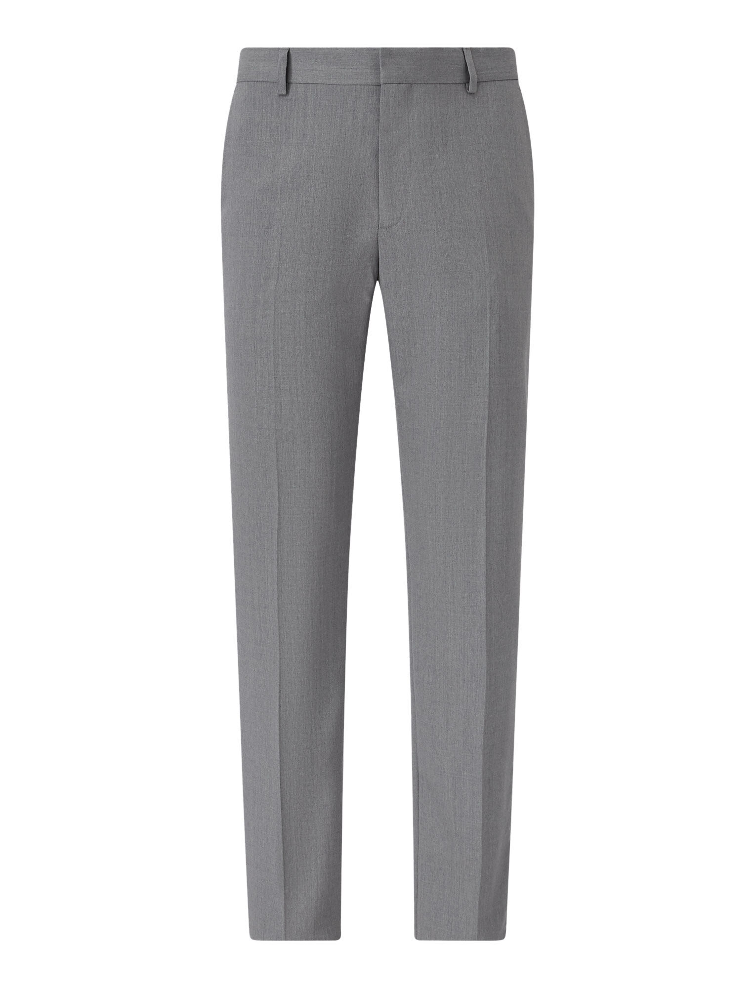Joseph, Jack Fine Comfort Wool Trousers, in GREY CHINE