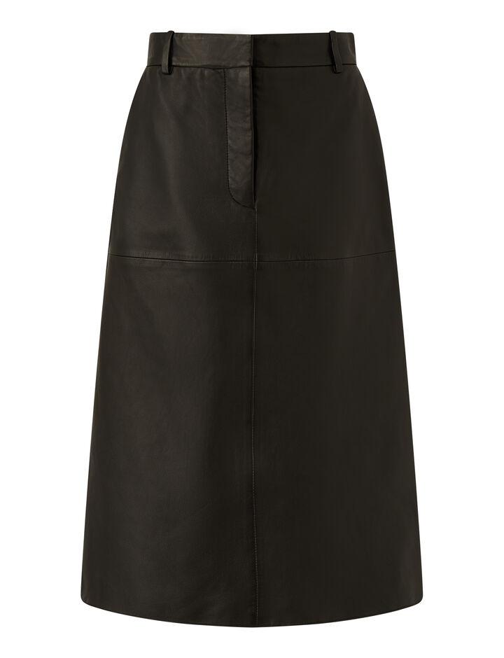Joseph, Salva-Nappa Leather, in BLACK