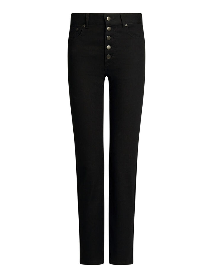 Joseph, Den Drill Stretch Trousers, in BLACK