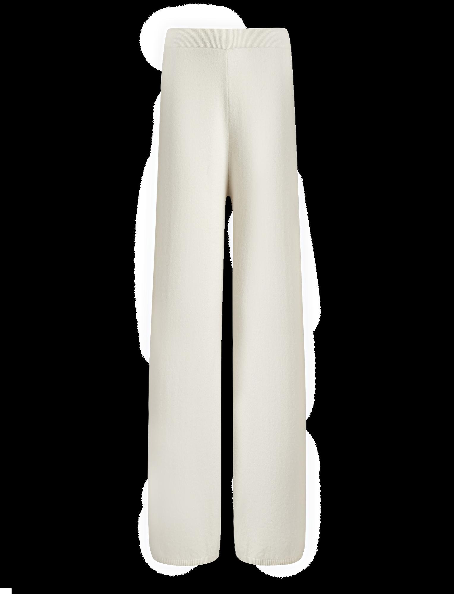 Joseph, Wool Cashmere Knit Trousers, in ECRU