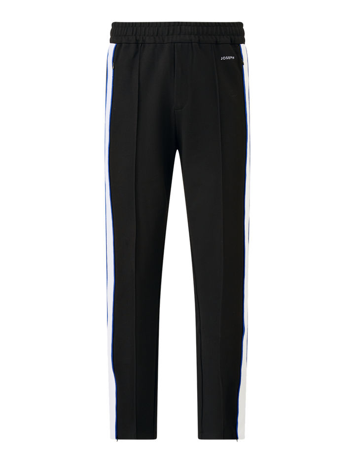Joseph, Sprint Jersey Trackpants, in BLACK