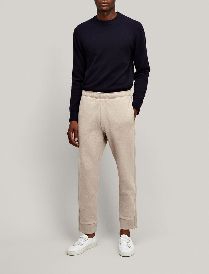 Joseph, Zip Jersey Trackpants, in CAMEL