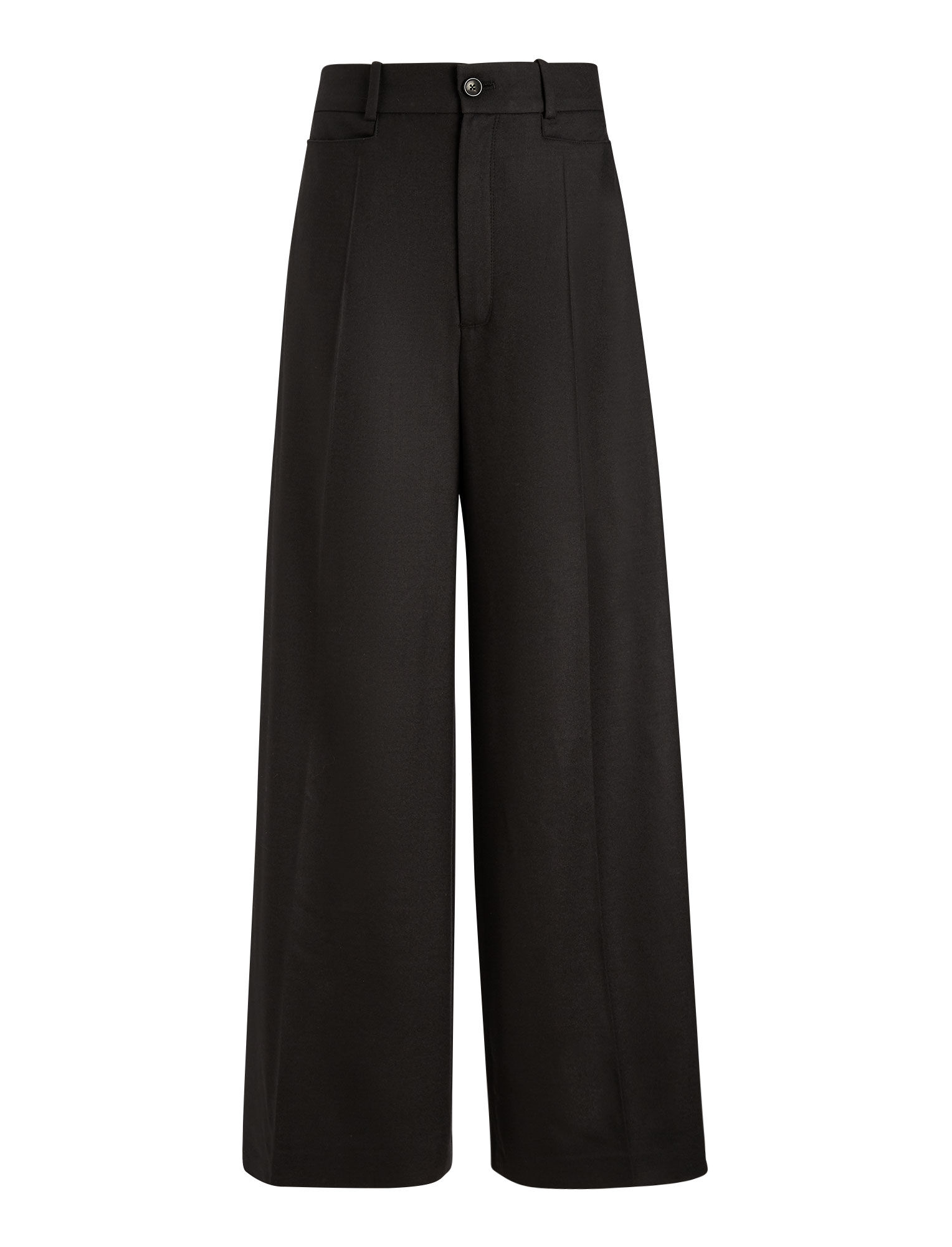 Joseph, Dana Flannel Stretch Trousers, in BLACK