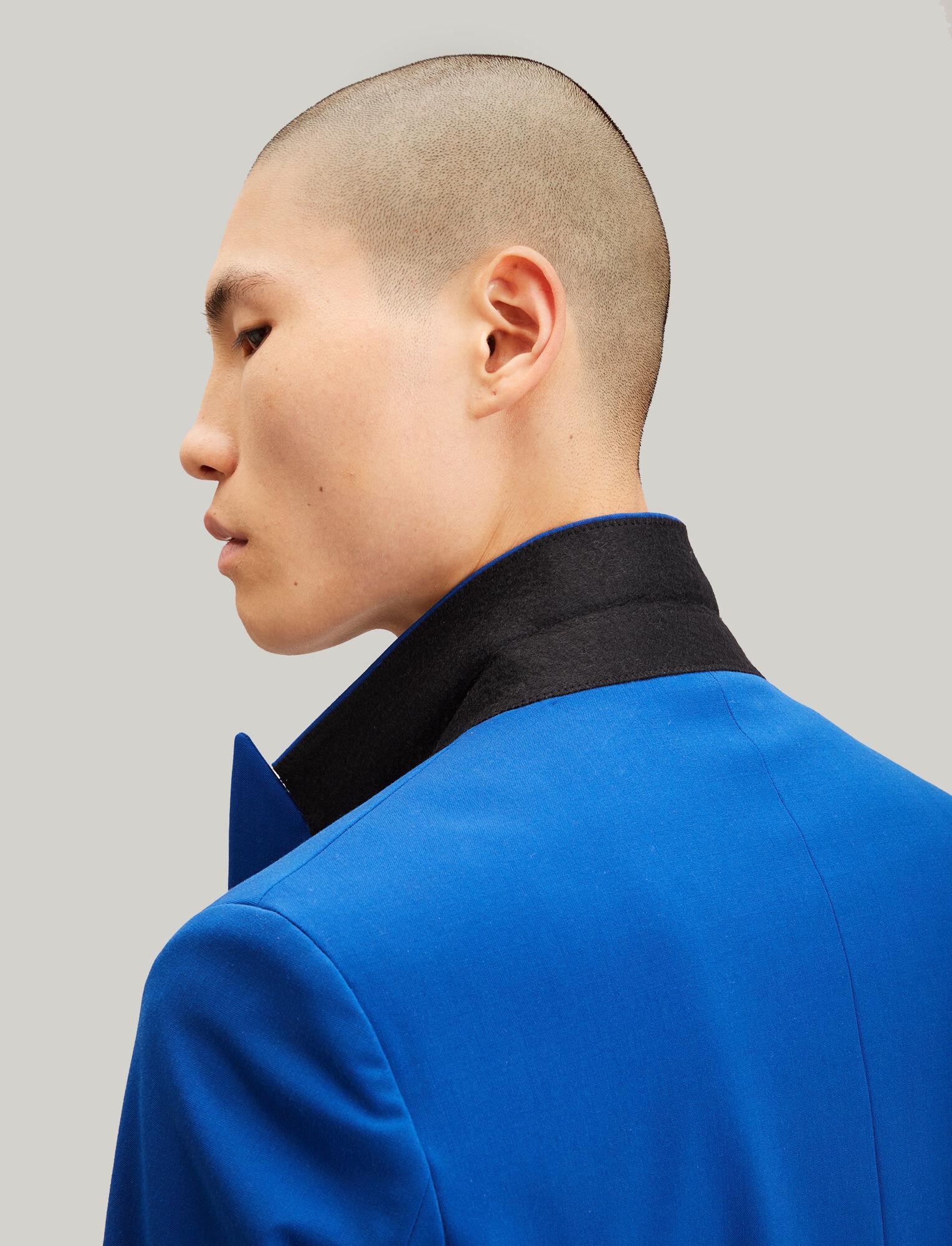 Joseph, Cannes Techno Wool Stretch Blazer, in COBALT