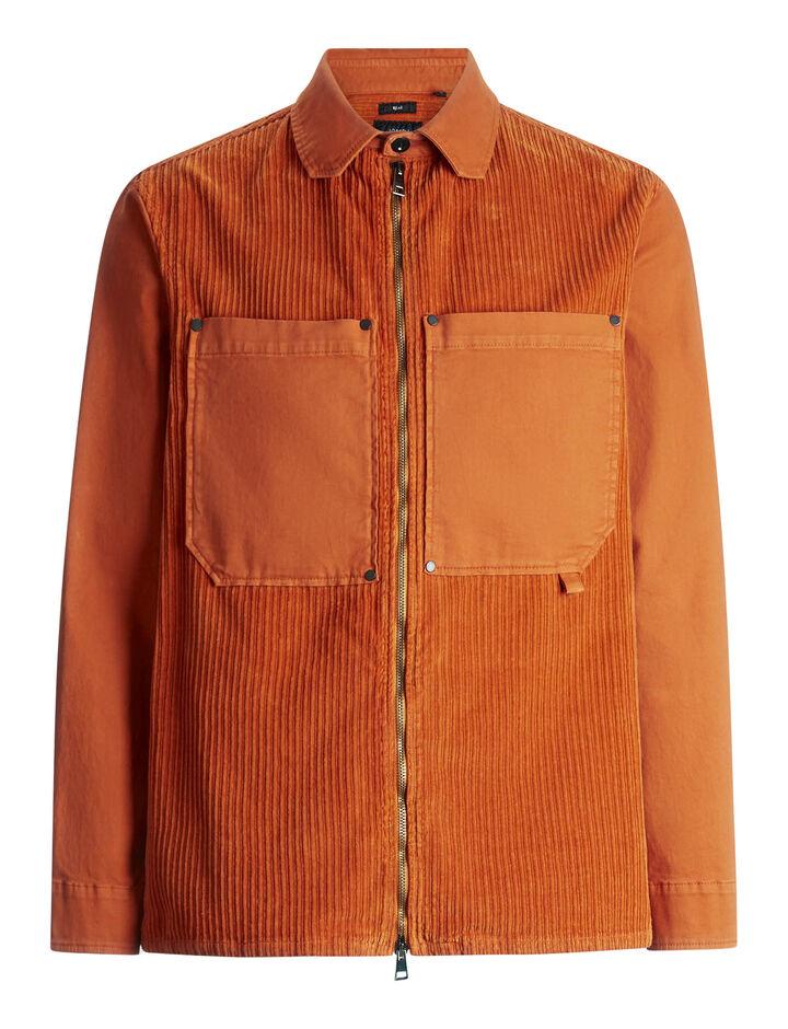 Joseph, Bennet Corduroy Shirt, in AMBER