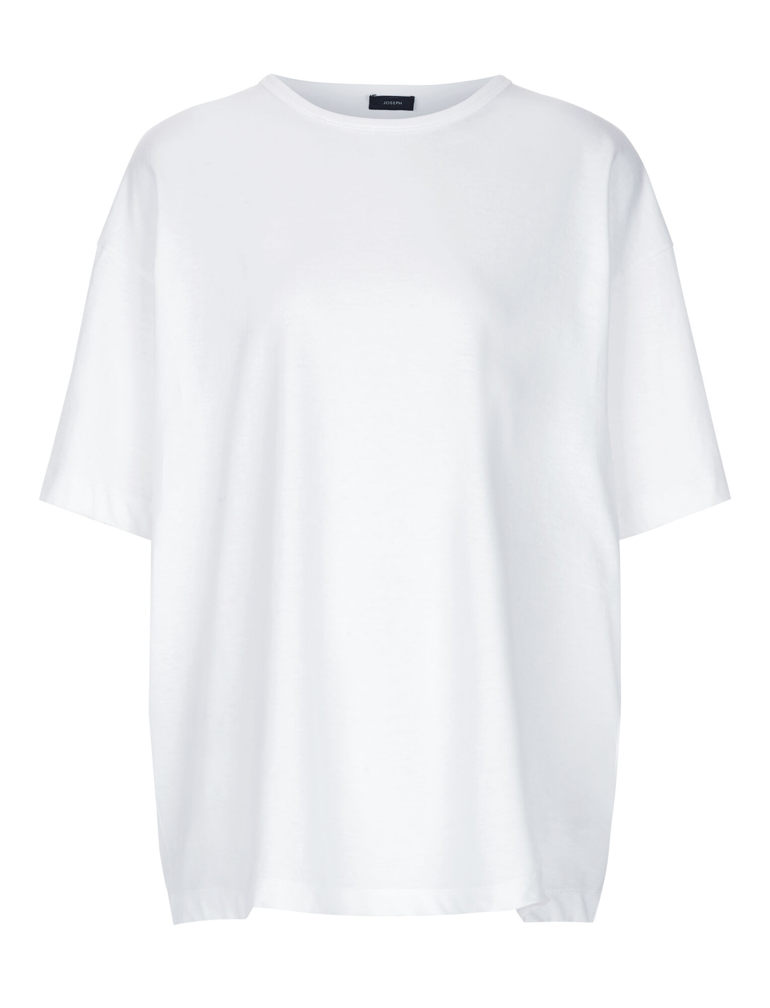 Joseph, Perfect Jersey Tee, in WHITE