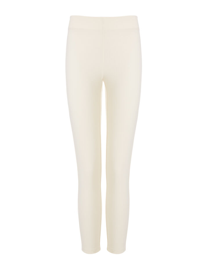 Joseph, Nitro Gabardine Stretch Leggings, in WHITE