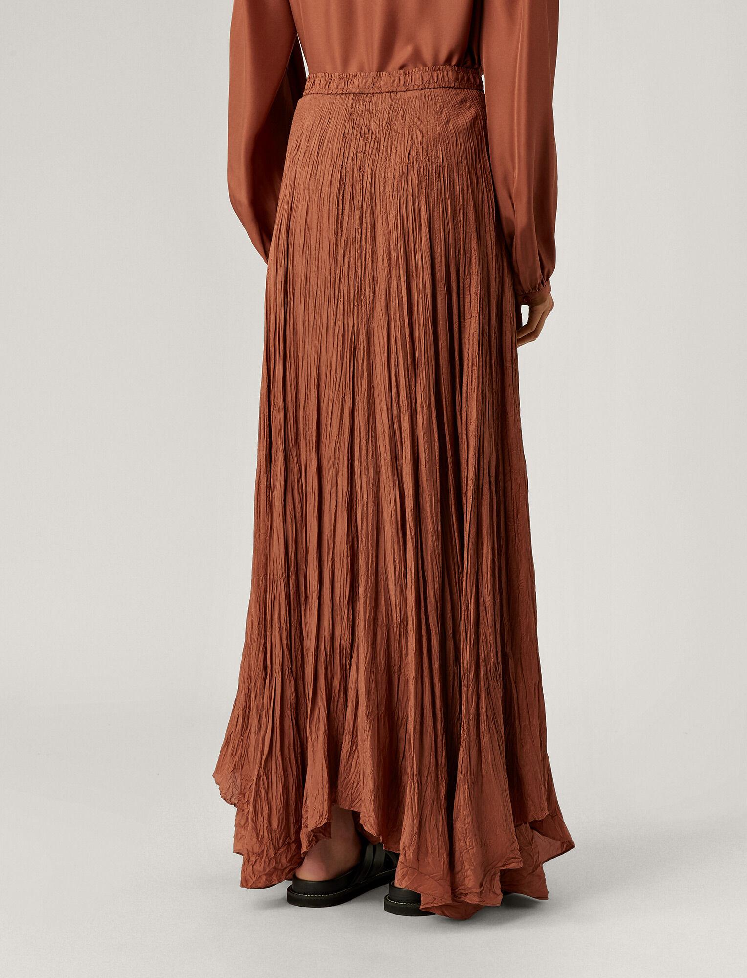 Joseph, Nanco Silk Habotai Skirt, in DUSTY ROSE