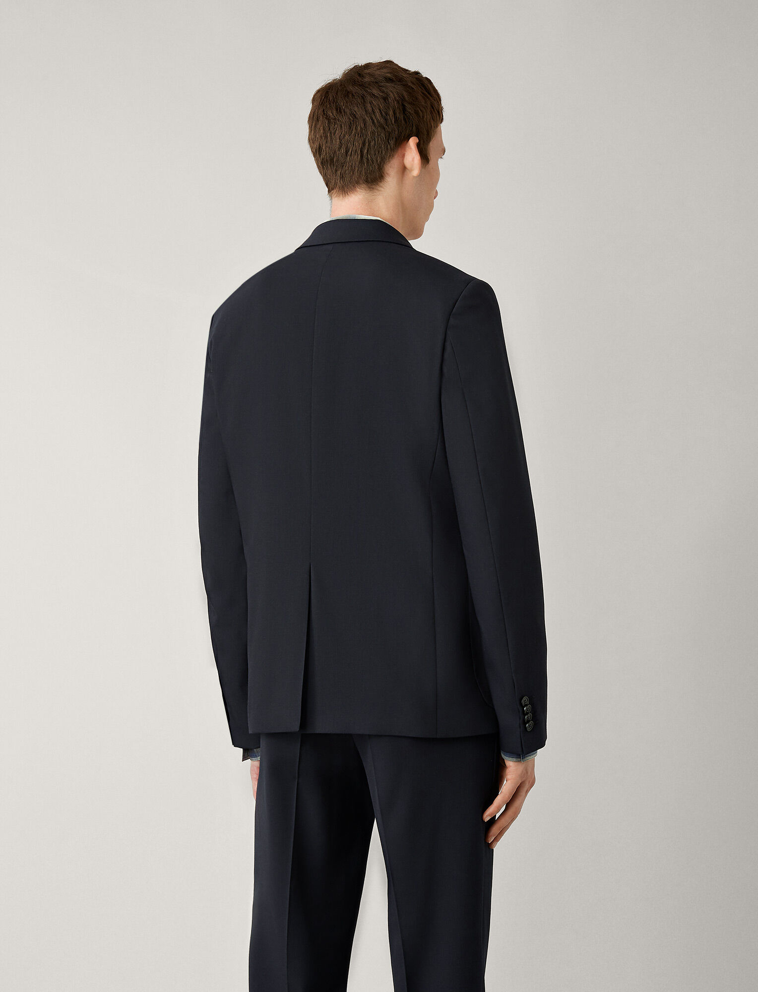 Joseph, Cassels Fine Comfort Wool Jacket, in NAVY