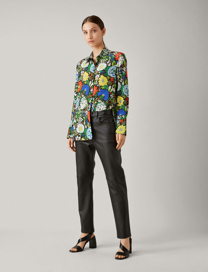 Joseph, Mason Botanical Floral Blouse, in MULTICOLOUR