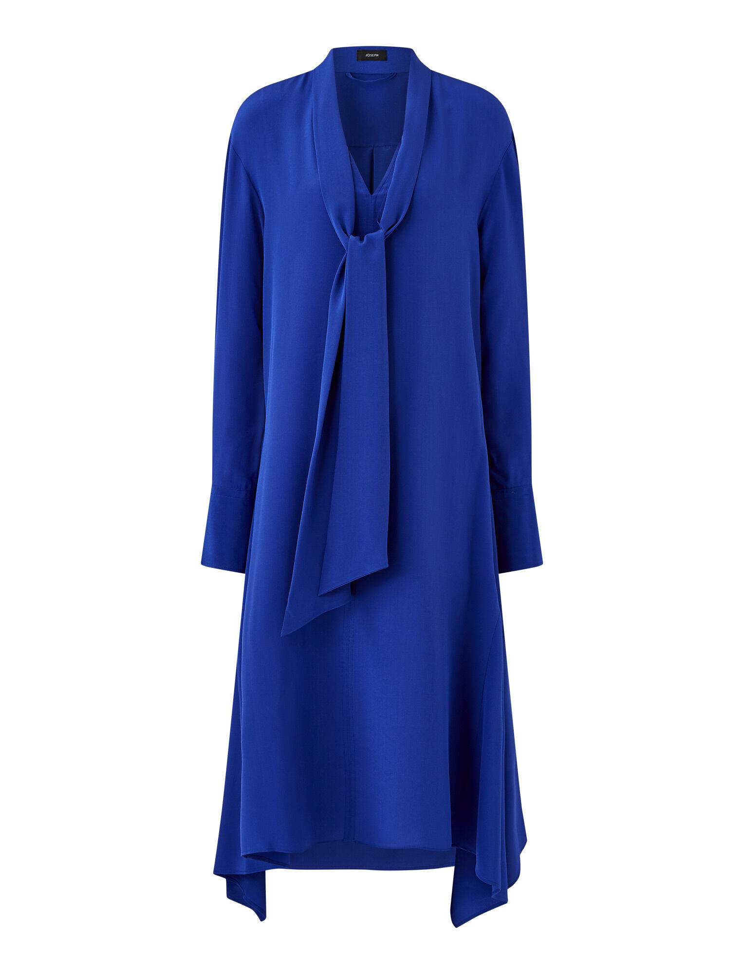 Joseph, Alisson Crepe De Chine Dress, in KLEIN