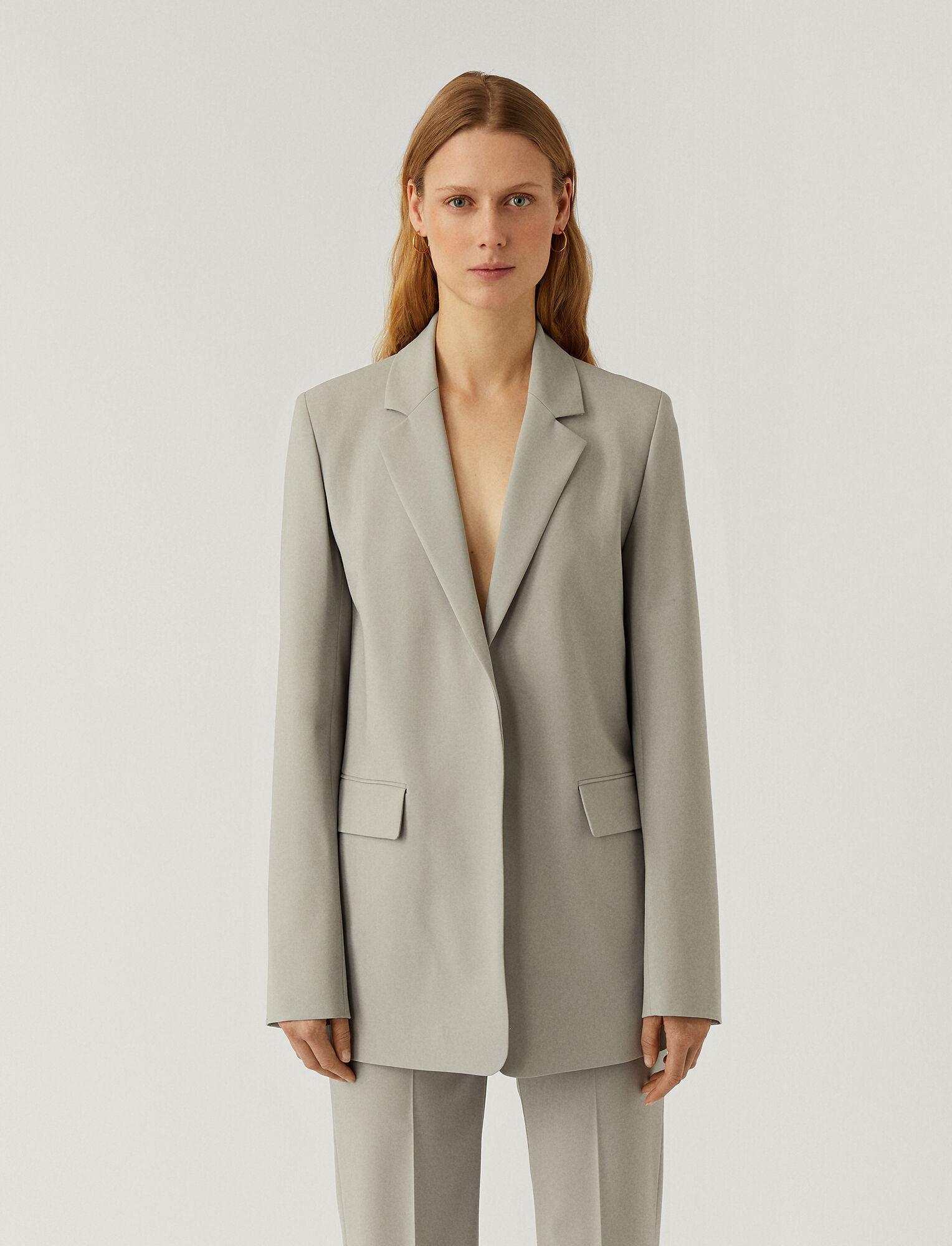 Joseph, Light Wool Suiting Joan Jacket, in CLOUD