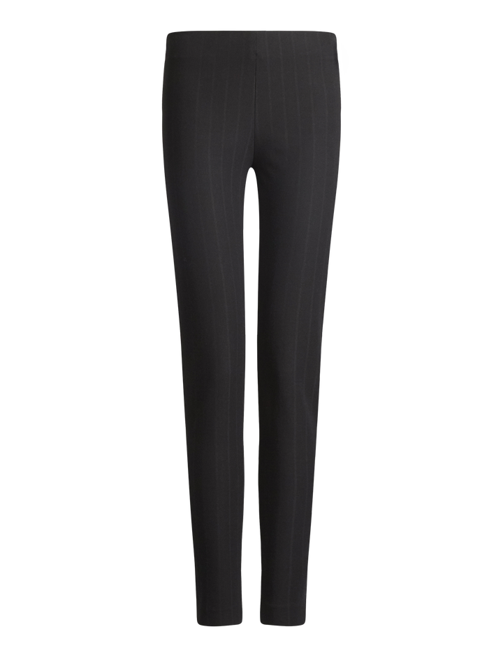 Joseph, Nielson Gabardine Stretch Jacquard Trousers, in BLACK