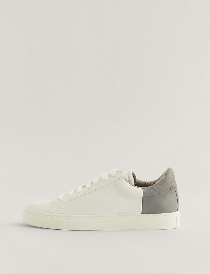 Joseph, Trainers, in White/Grey