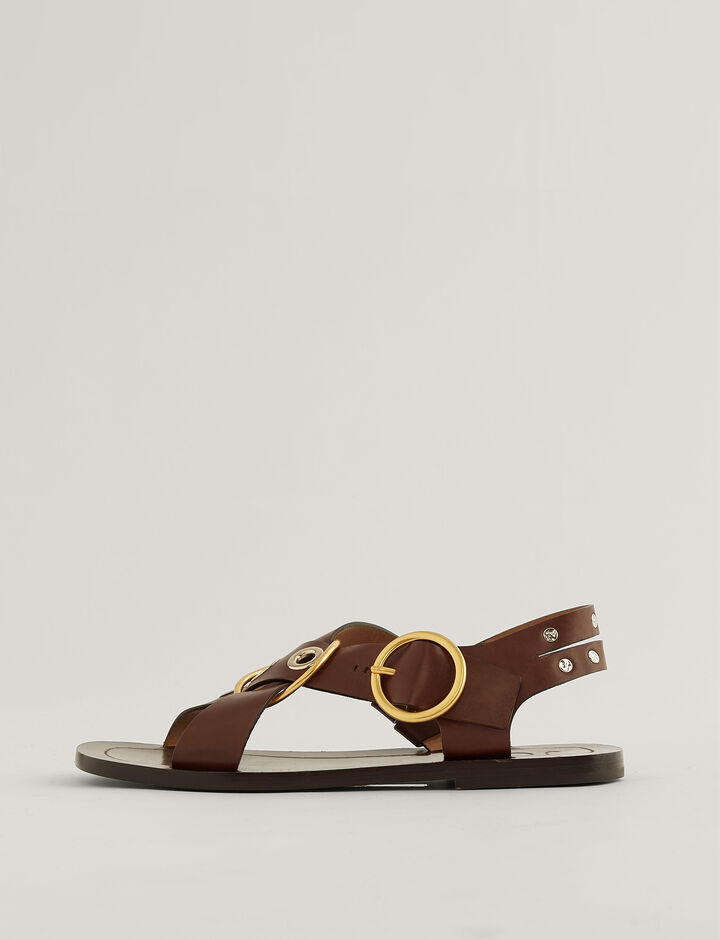 Joseph, SANDALS JO34050A GAYA, in CHESTNUT