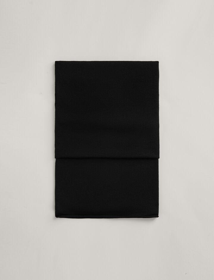 Joseph, Silk Merinos Scarf, in BLACK