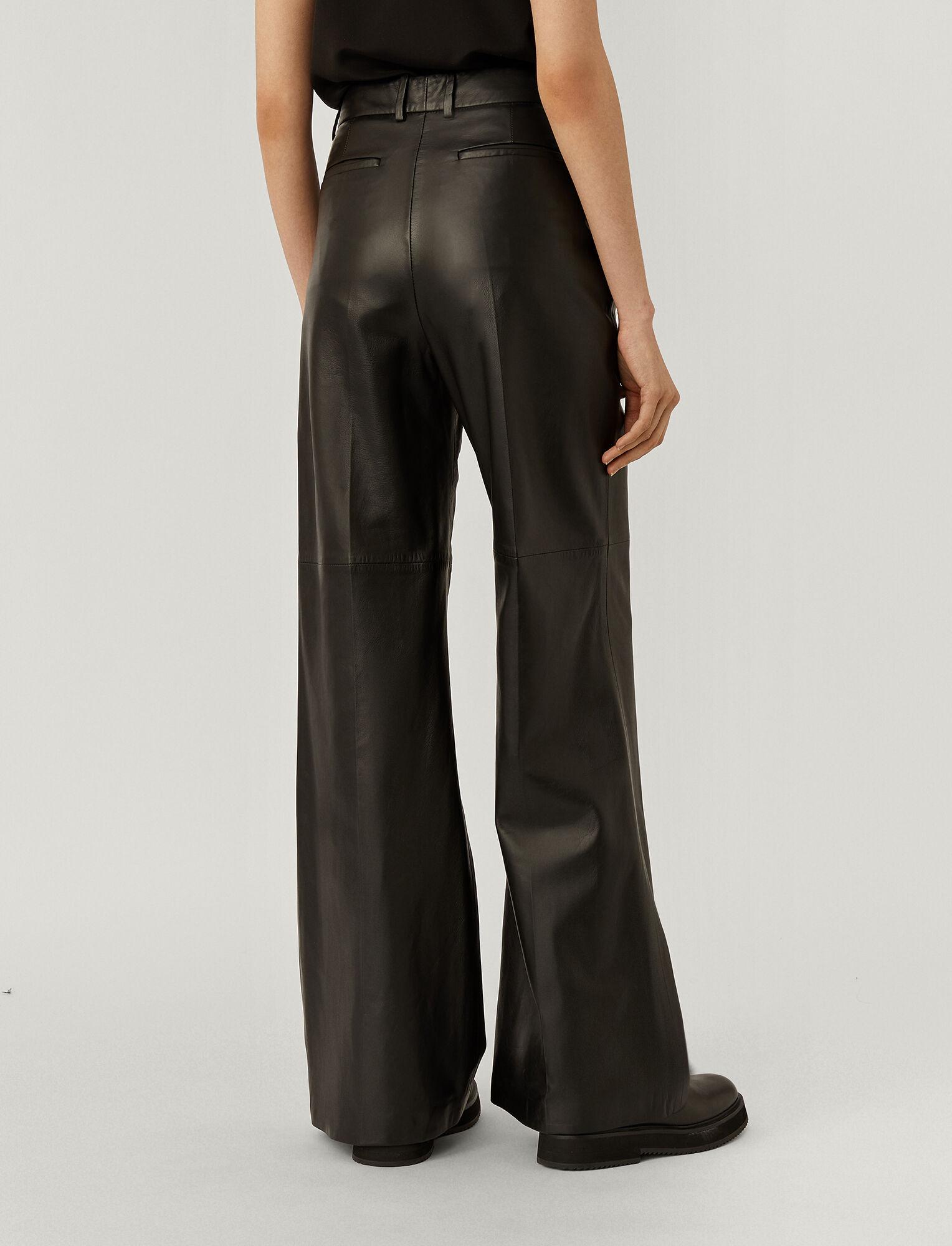 Joseph, Tambo Nappa Leather Bottom, in Black