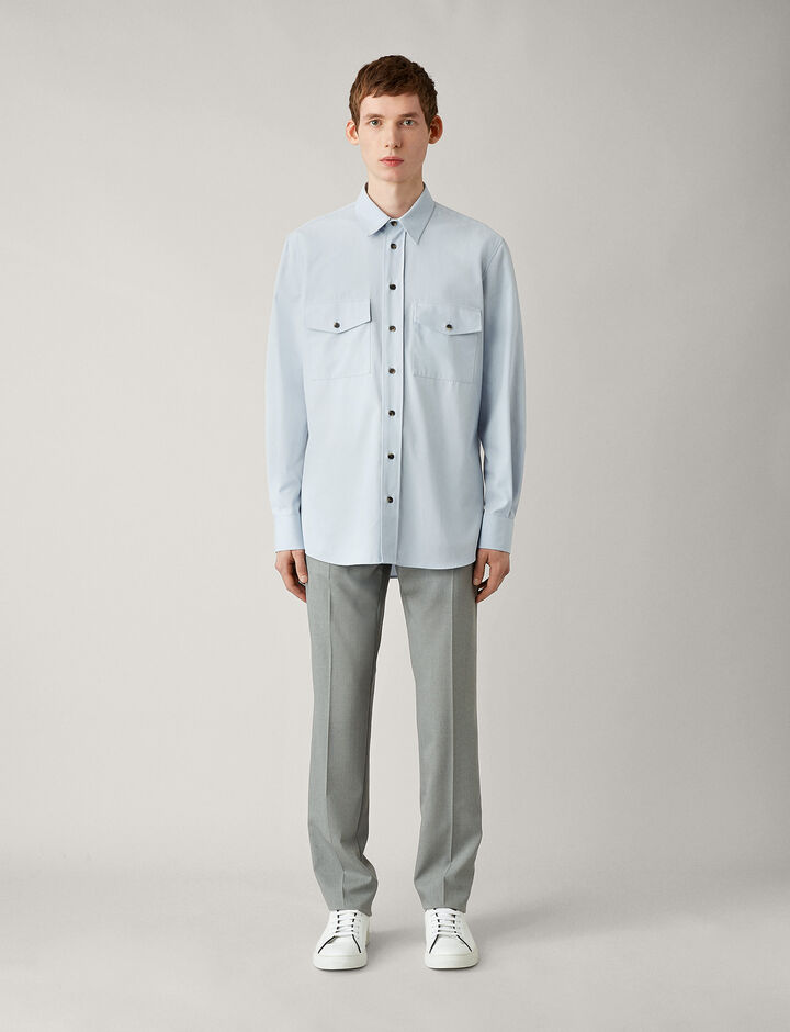 Joseph, Joseph-Cotton Twill, in SKY BLUE