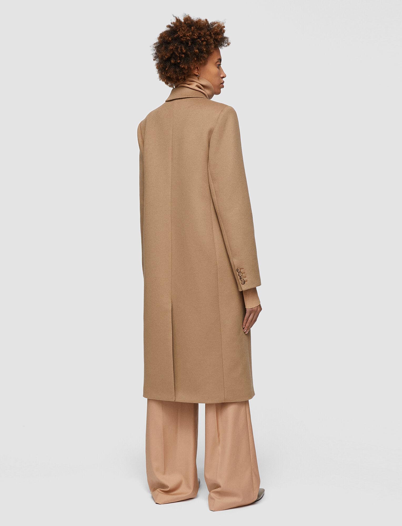 Joseph, Wool Coating Camia Coat, in Camel