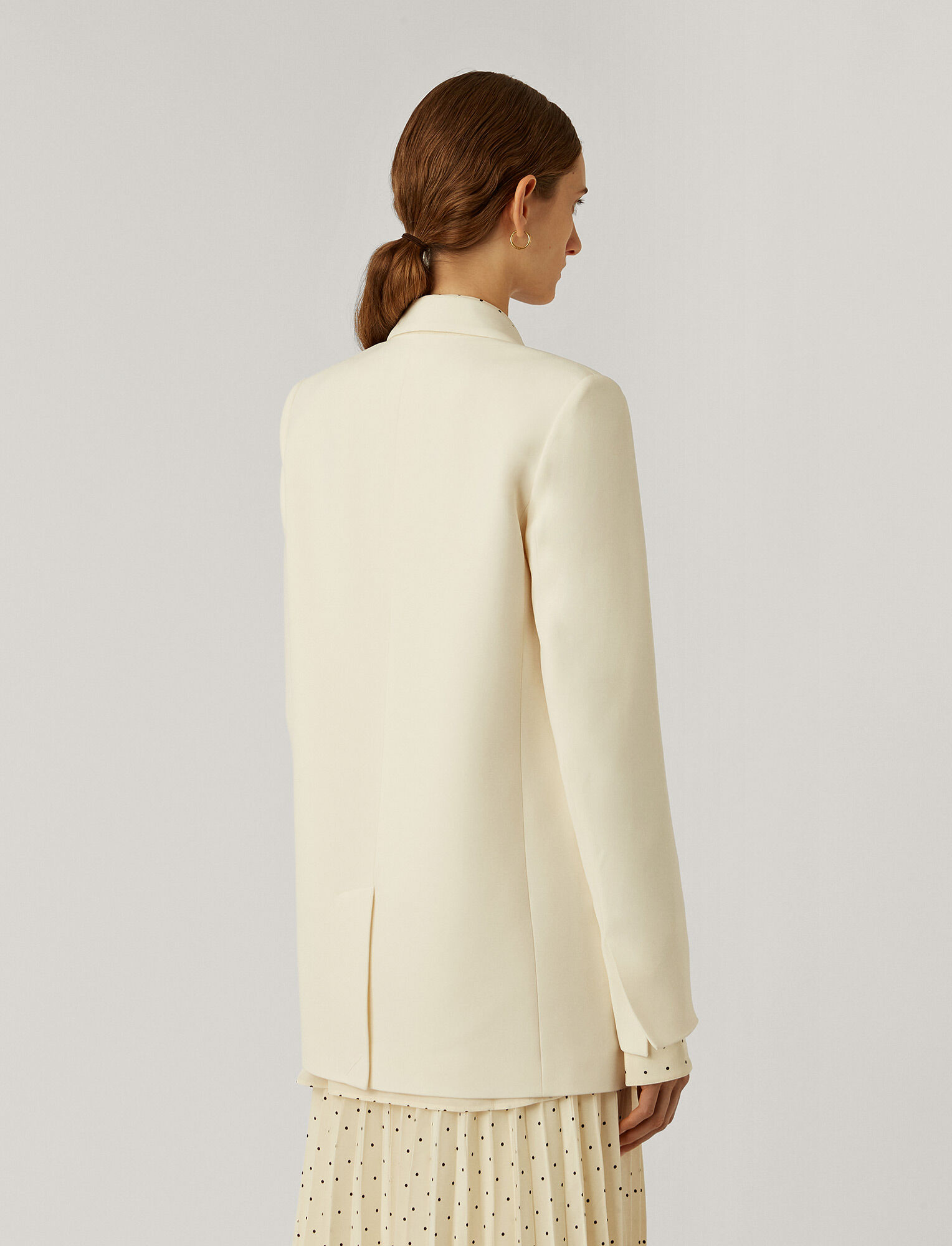 Joseph, New Cady Joan Jacket, in OFF WHITE