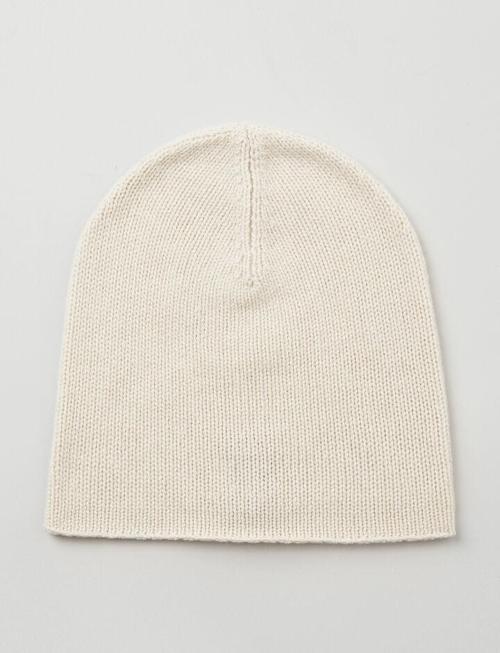 Joseph, Mongolian Cashmere Hat, in ECRU