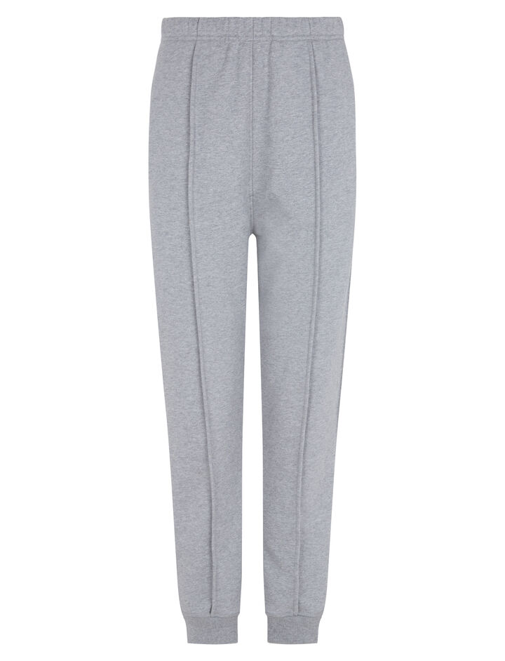 Joseph, Jog Molleton Trousers, in GREY CHINE