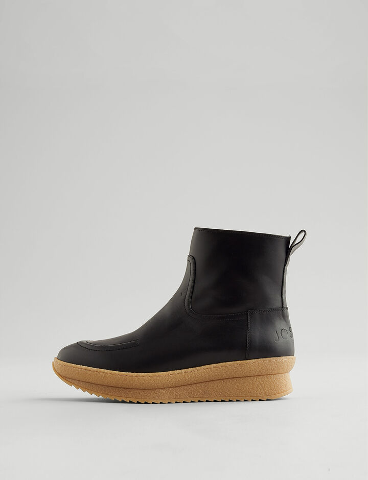 Joseph, Eva Mugello Boot, in BLACK