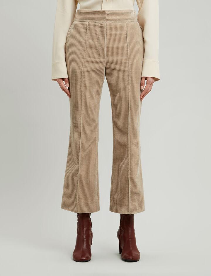 Joseph, Ridge Jumbo Corduroy Trousers, in ANTIQUE