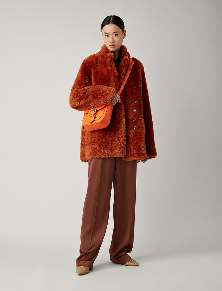 Joseph, Lyne Teddy Merinos Sheepskin, in RUST