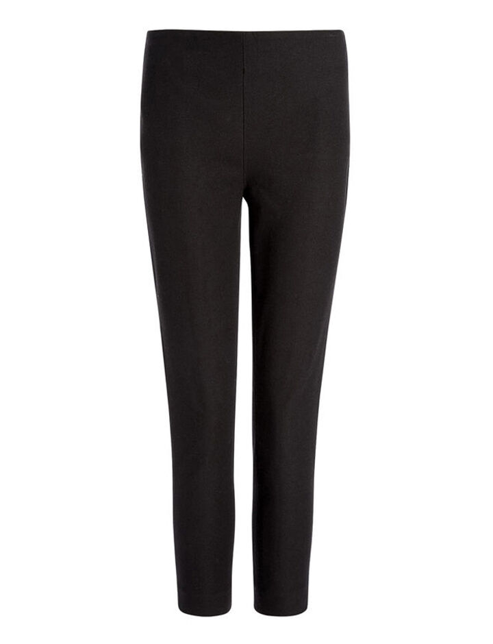 Joseph, Gabardine Stretch New Tony Cropped Trousers, in BLACK