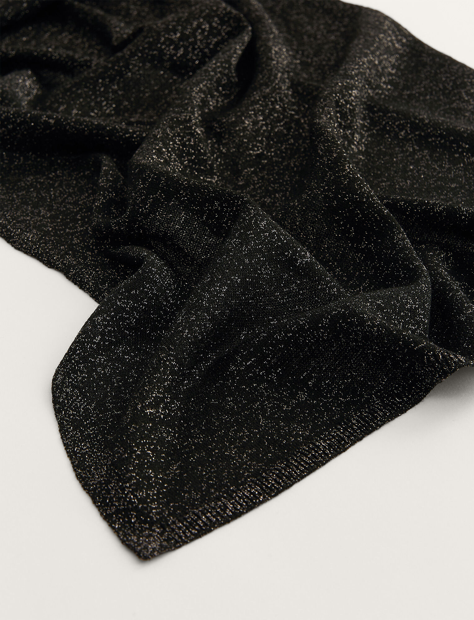 Joseph, Lurex Scarf, in BLACK