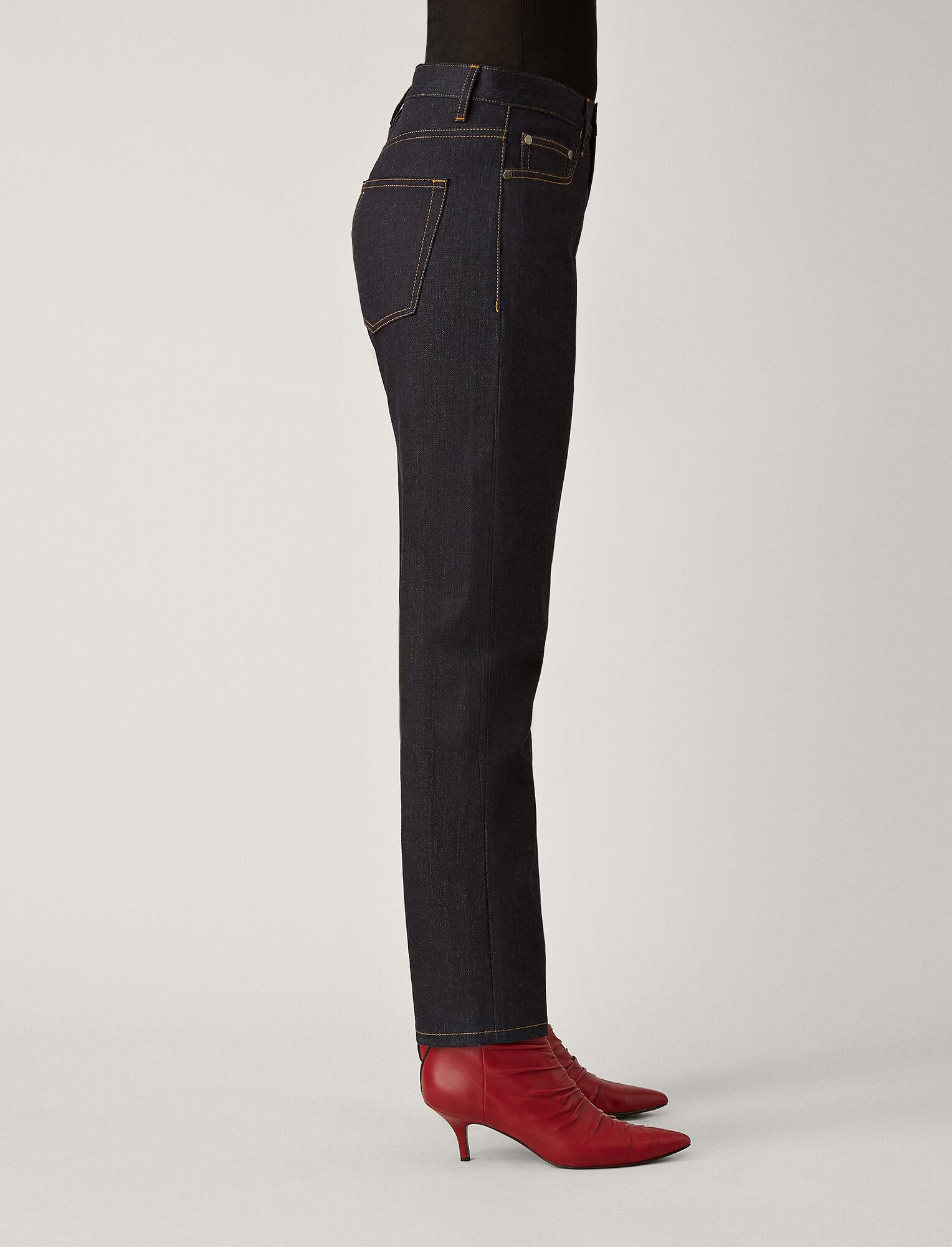 Joseph, Kemp Denim Stretch Trousers, in PURE INDIGO