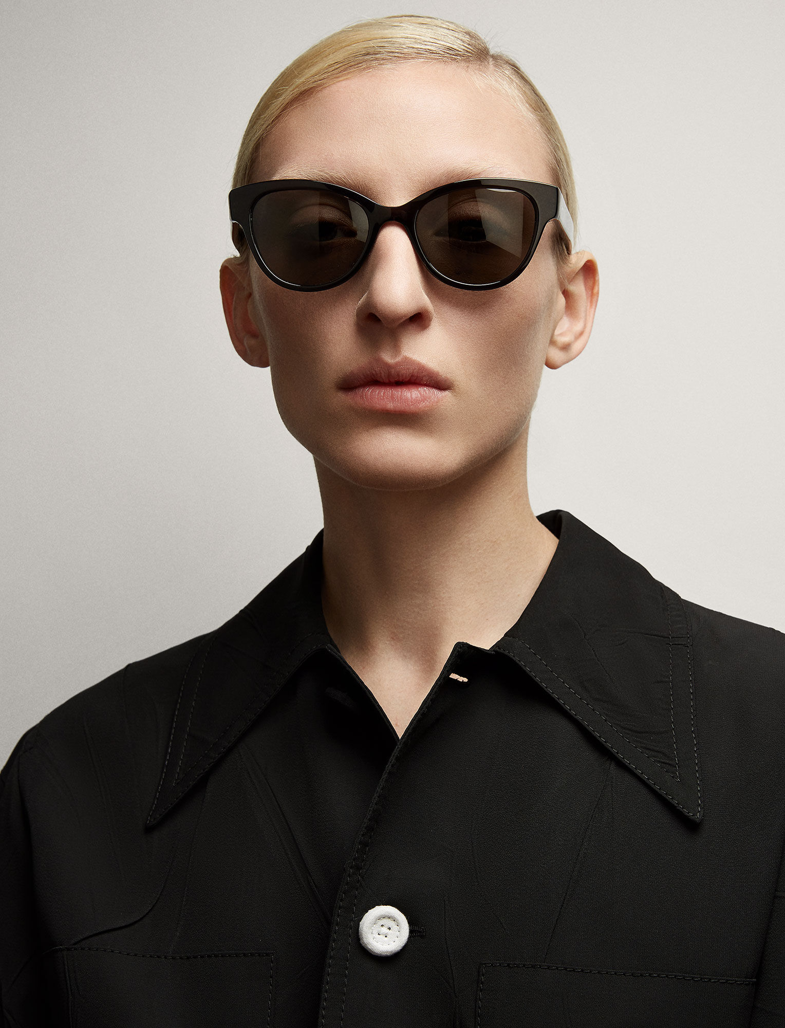 Joseph, Germain Sunglasses, in ANTHRACITE