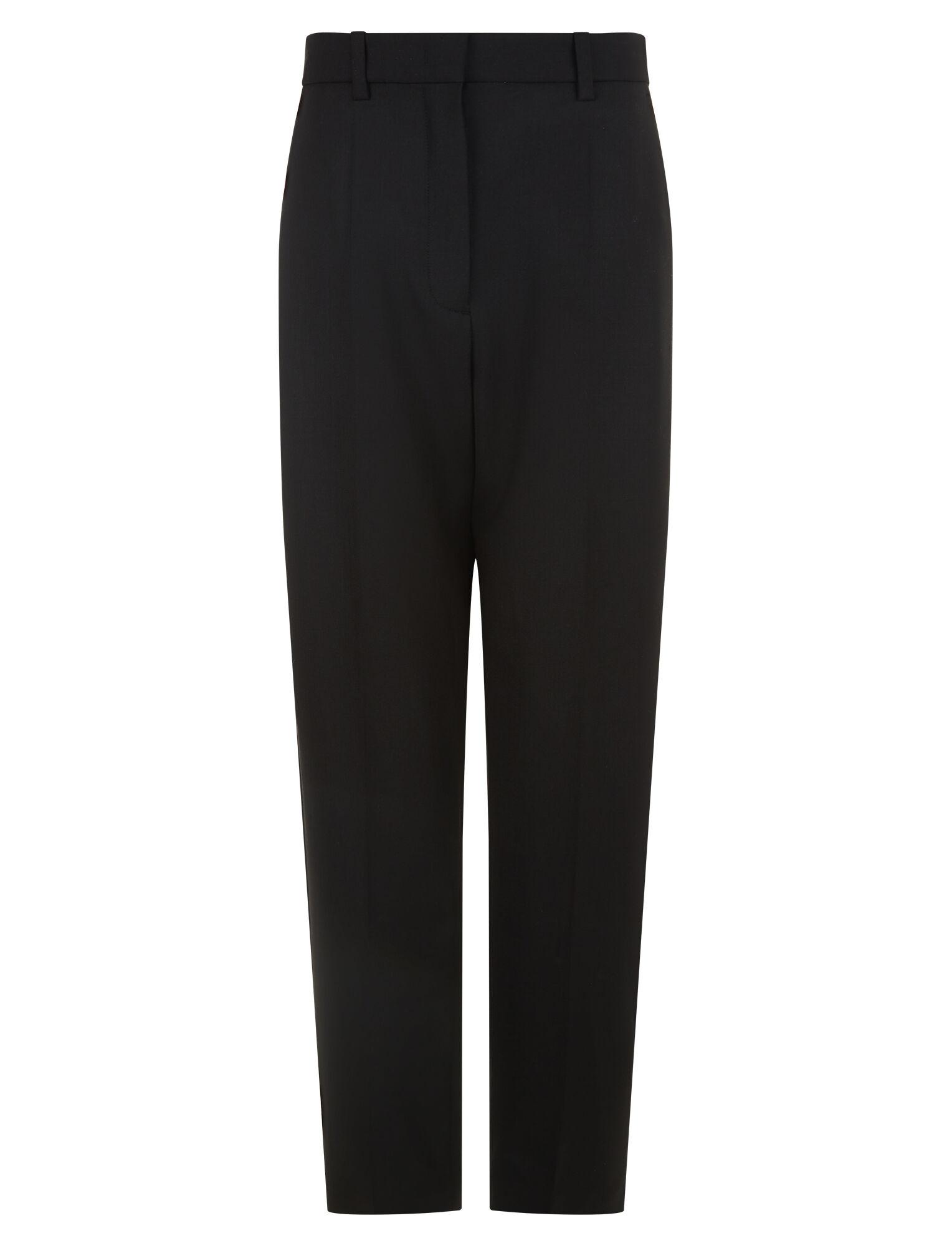 Joseph, Electra Comfort Wool Trousers, in BLACK