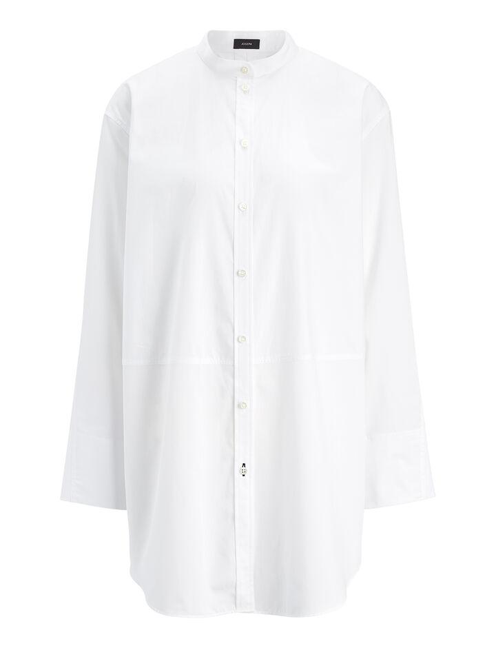 Joseph, Blouse Lenno chemise blanche, in WHITE