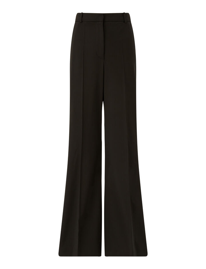 Joseph, Tambi Light Wool Suiting Trousers, in Black