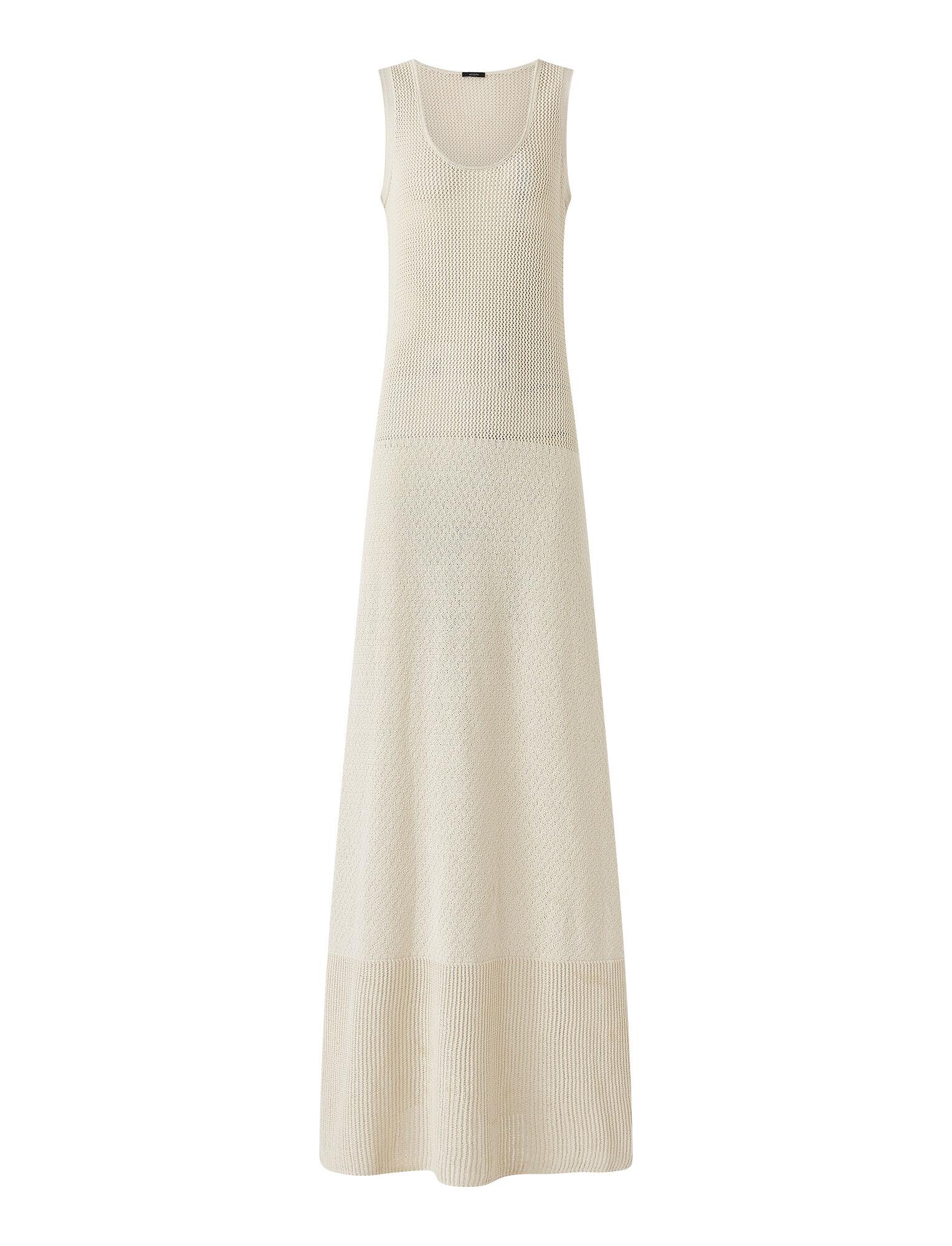 Joseph, Crispy Cotton Dress, in PORCELAIN