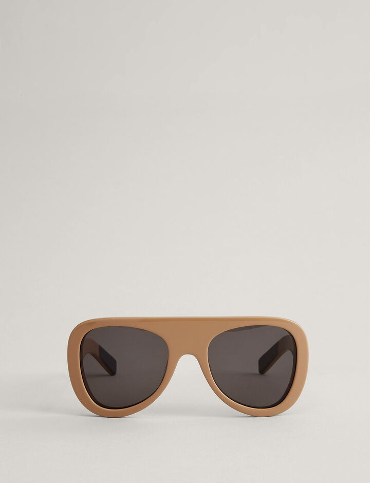 Joseph, Sunglasses CHELSEA, in CAMEL