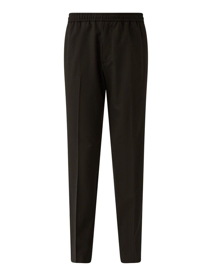 Joseph, Techno Wool Stretch Trousers Trousers, in Black