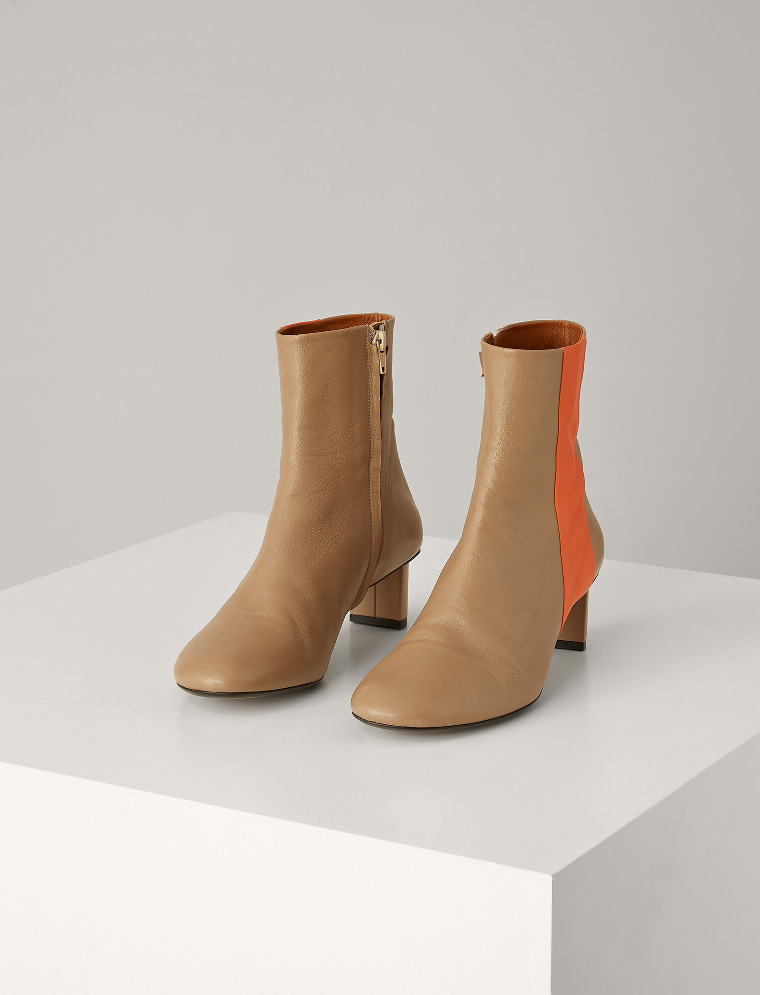 Joseph, Avenue Leather Super Boot, in TAN