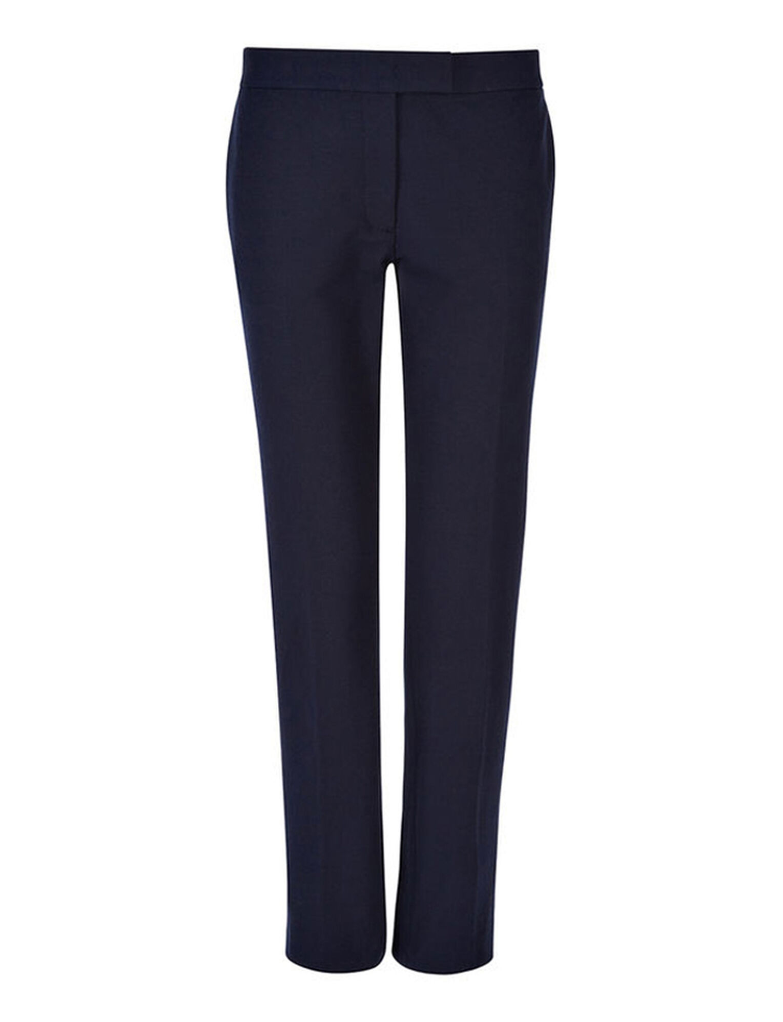 Joseph, Pantalon Finley en gabardine stretch, in NAVY