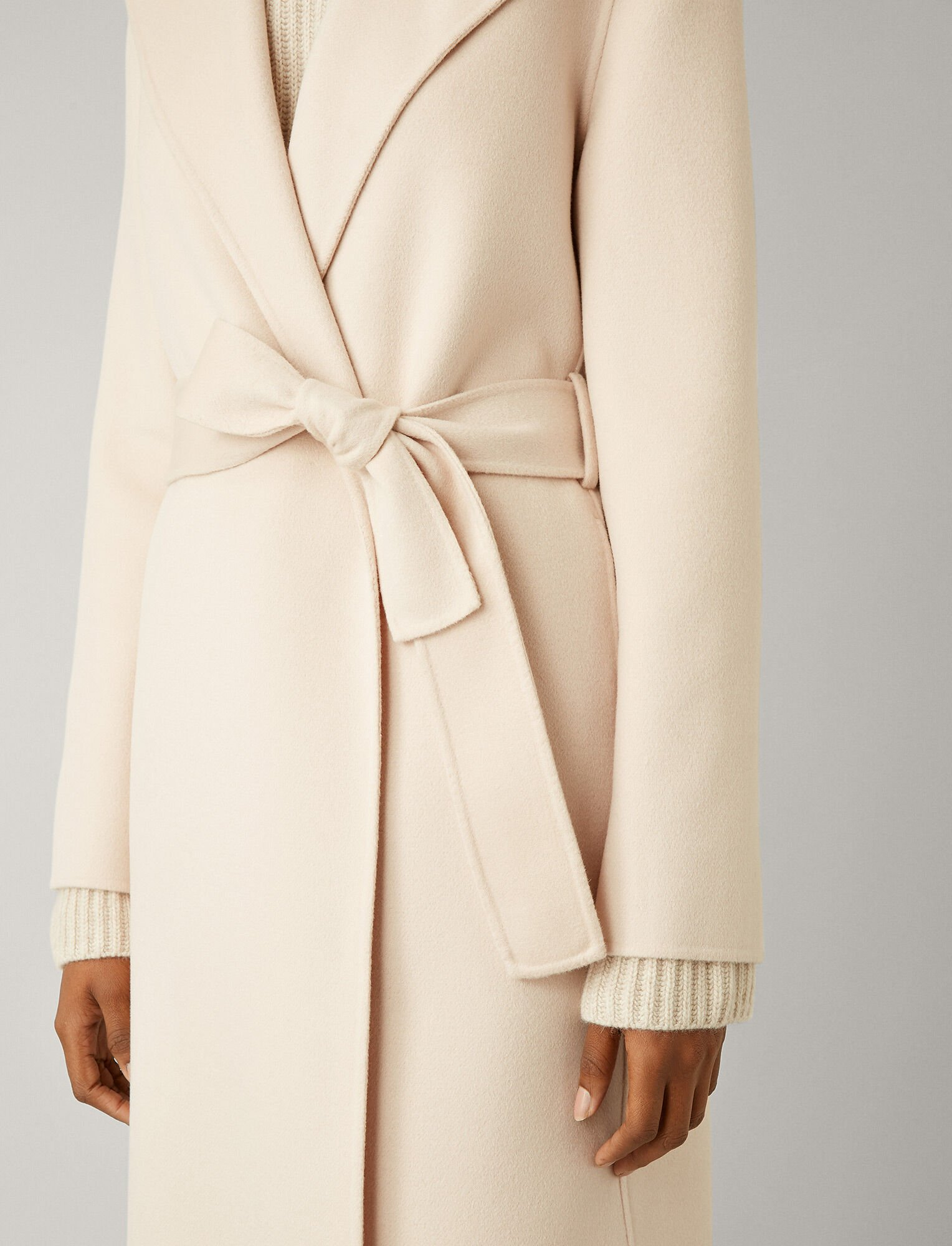 Joseph, Lima Double Face Cashmere Coat, in ROSEWATER