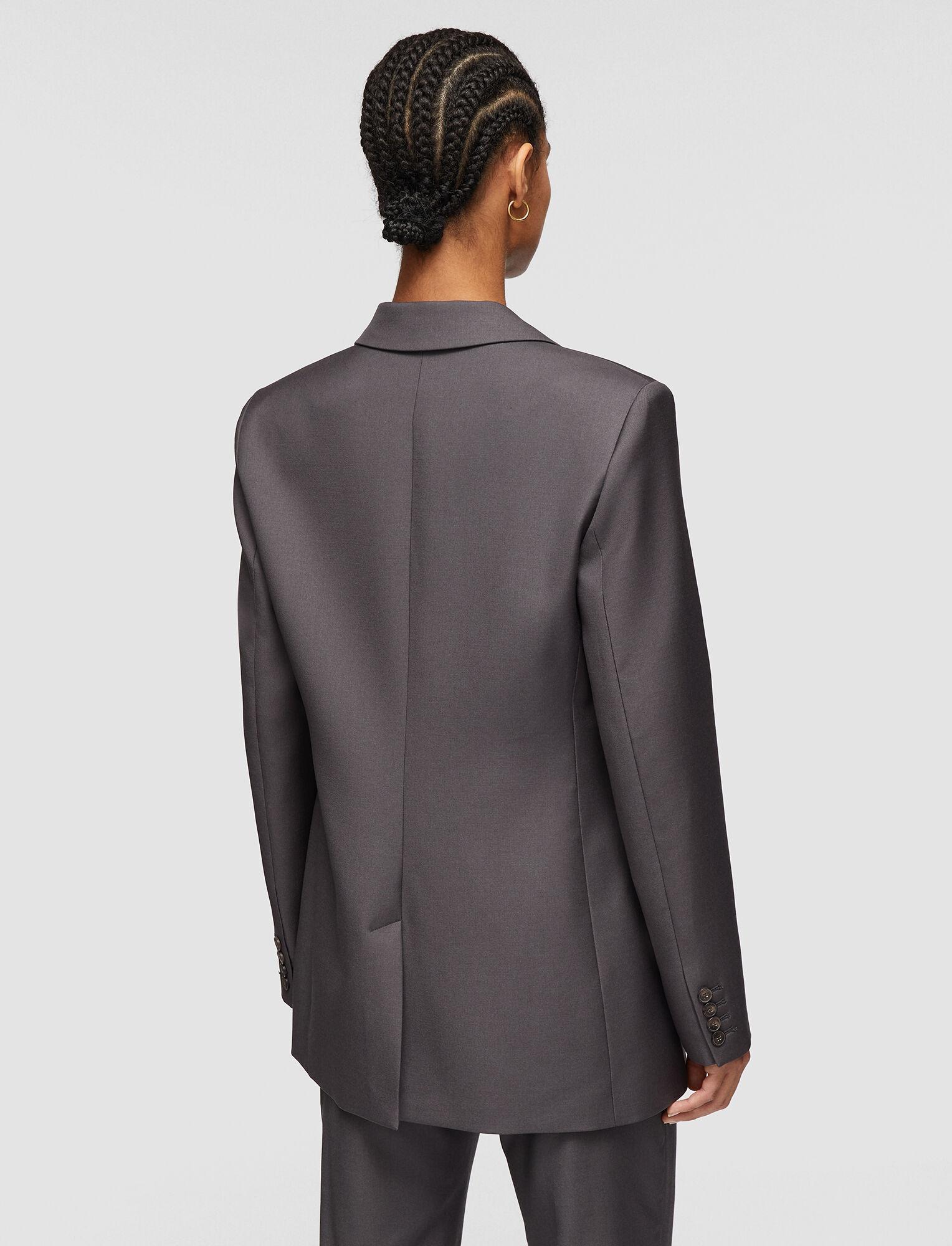 Joseph, Tailoring Wool Josina Jacket, in IRON
