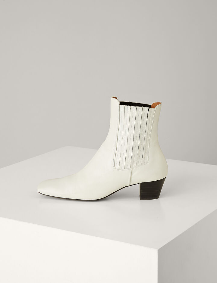 Joseph, Bettina Mugello Ankle Boots, in WHITE