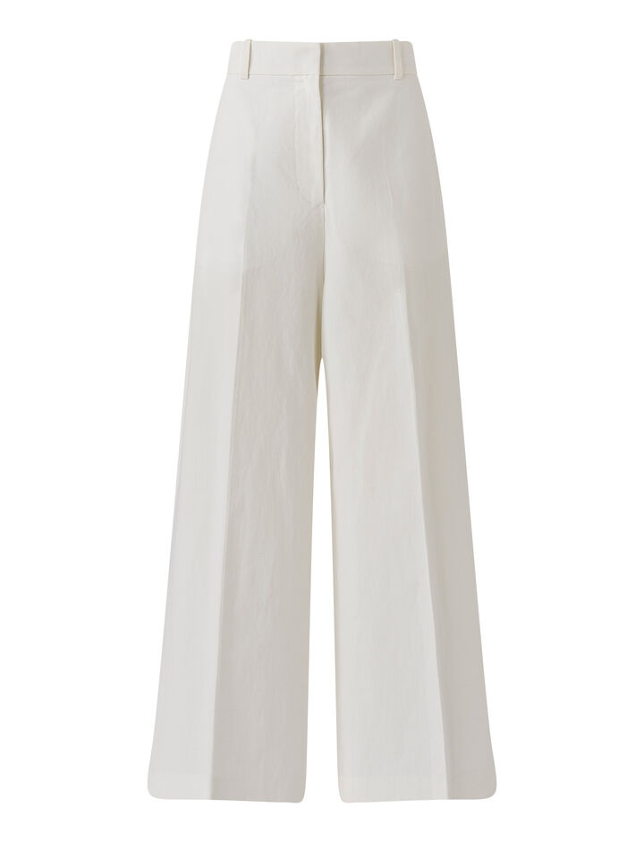 Joseph, Talan-Cotton Linen, in OFF WHITE