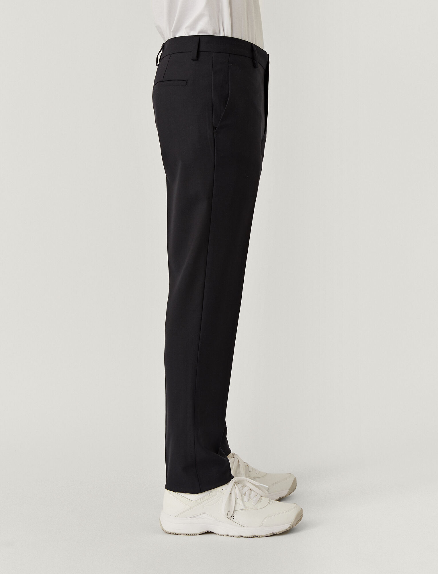 Joseph, Techno Wool Stretch Jack Trousers, in NAVY