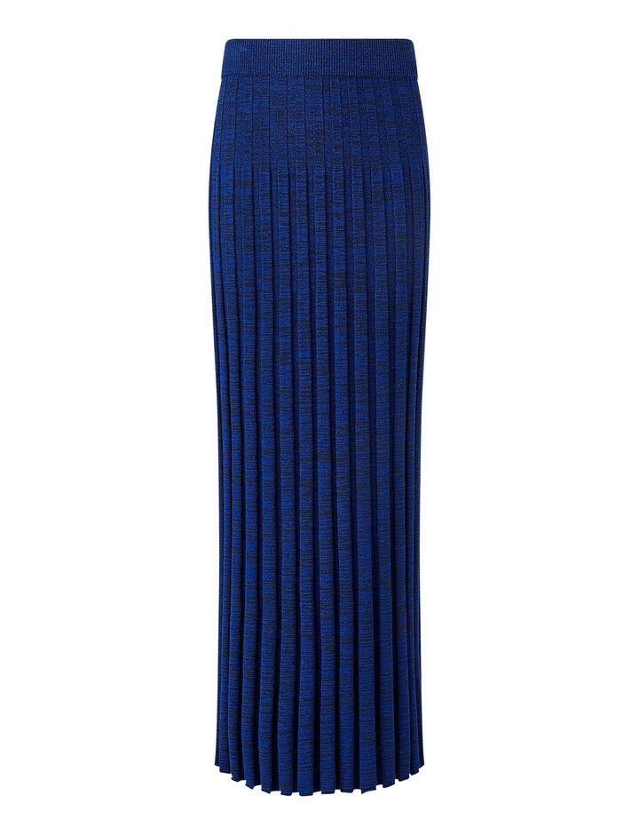 Joseph, Textured Rib Skirt, in COBALT BLUE