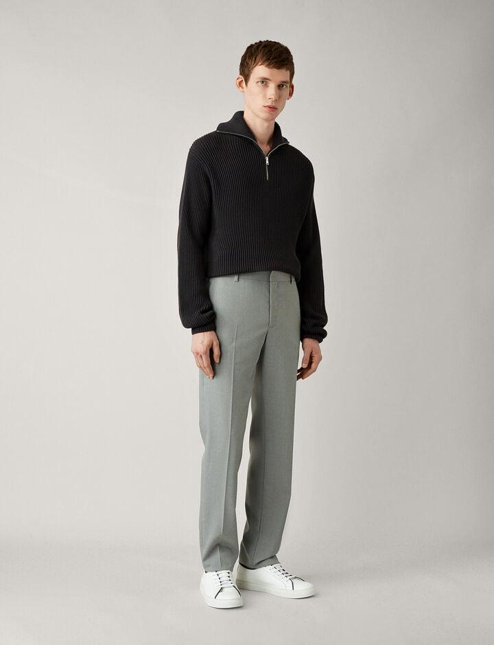 Joseph, Jack-Fine Comfort Wool, in GREY CHINE